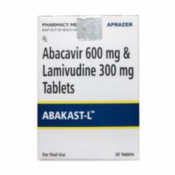 Купить Кивекса полный аналог :: Абакаст (Abakast L) таблетки 600 300мг №30 в Новосибирске