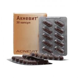 Купить Акневит (Acnevit) капс. №30 в Новосибирске