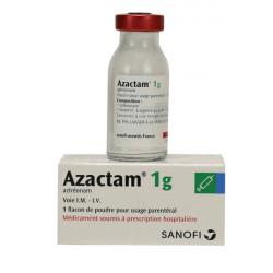 Купить Азактам (Азтреонам) пор. для инъекций 1г 1фл./уп. в Новосибирске