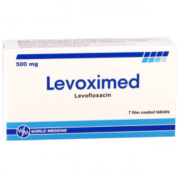 Купить Левоксимед (Levoximed) таблетки 500мг №7 в Новосибирске