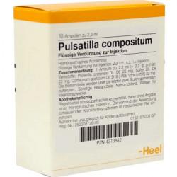 Купить Пульсатилла композитум амп. 10шт в Новосибирске