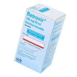 Купить Ретровир сироп для новорожденных 100мг/10мл флакон 200мл в Новосибирске