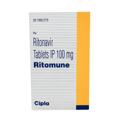 Купить Ритонавир (Ritomune : Ritomax) табл. 100мг №30 в Новосибирске