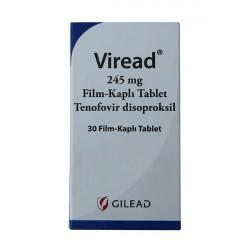 Купить Виреад (Viread) таблетки 245мг №30 в Новосибирске