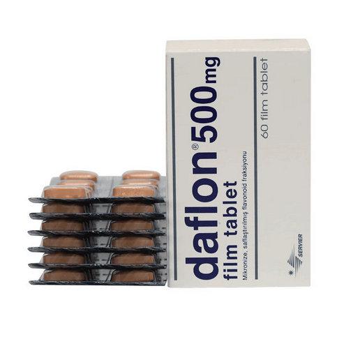 Купить Дафлон таблетки 500мг №60 в Новосибирске