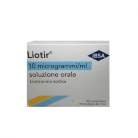 Купить Лиотир (Лиотиронин) 10мкг/мл 1мл №30 (30 доз) в Новосибирске