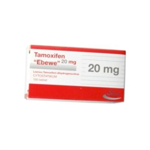 Купить Тамоксифен Эбеве (Австрия/Словения) таблетки 20мг №100! в Новосибирске